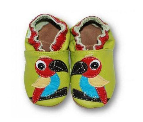 ekoTuptusie Papużka :)  Soft Sole Shoes Funny Parrot :) https://fiorino.eu/