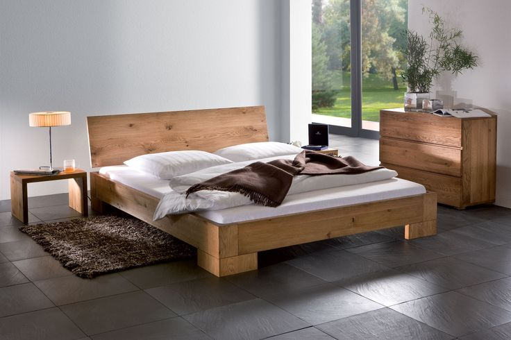 Solid Wood Beds Hasena Oakline Vaco Varus Solid Oak