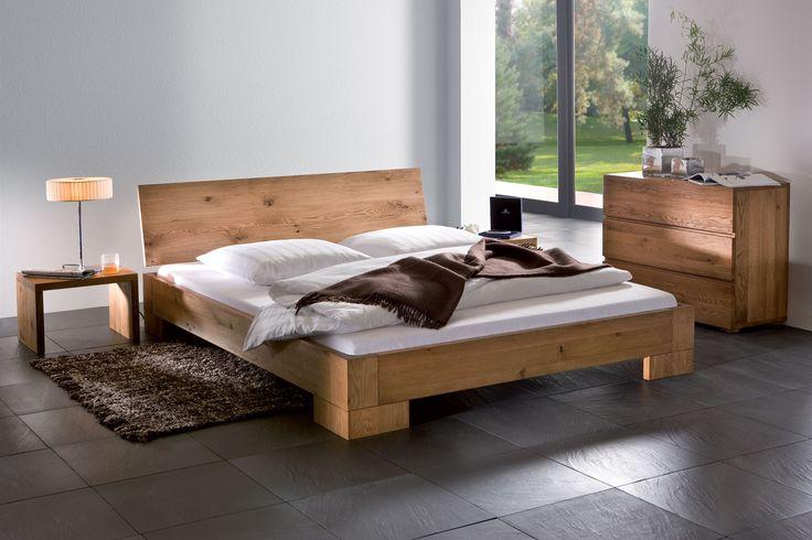 Solid Wood Beds Hasena Oakline Vaco Varus Solid Oak