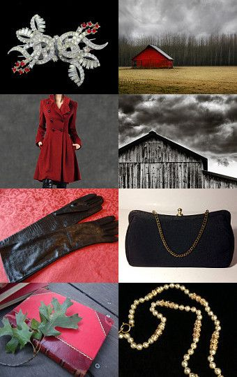 Red Grey Black by Michal Hartal on Etsy--Pinned with TreasuryPin.com