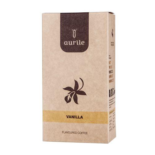 Aurile Vanilla - Un aroma esotico e dolce di vaniglia è l'accompagnamento ideale al gusto naturale del caffè tostato fresco. Introduce note calde e allegre nella composizione. E' una vera gioia per i sensi.