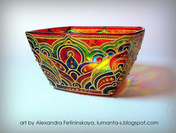 Art by Alexandra Fet | candle holder