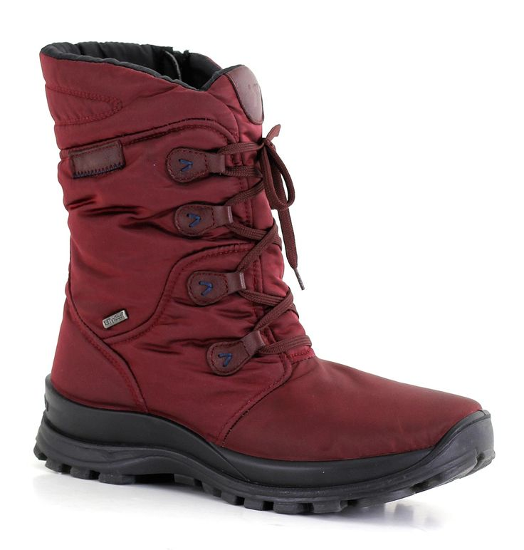Whether you are splashing through puddles in Vancouver or navigating through snow in Winnipeg, it doesn't get any better than this Romika lace-up winter boot.