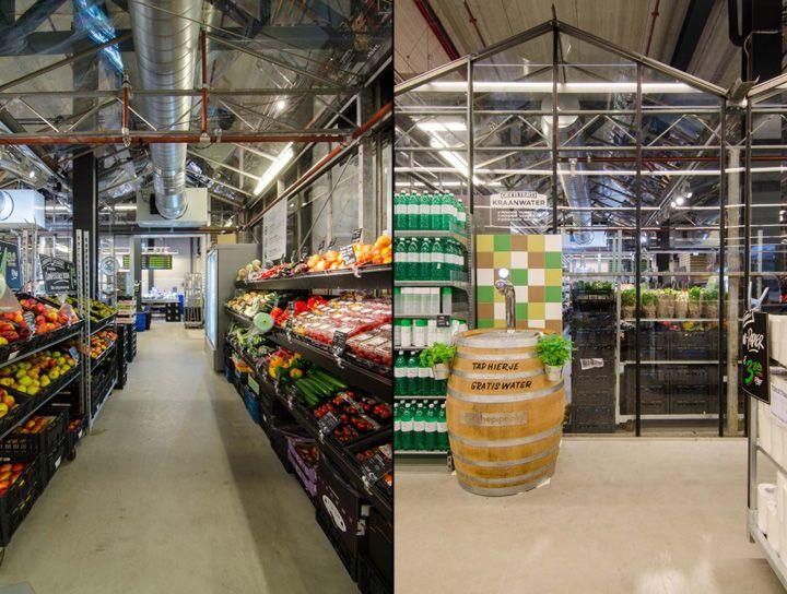 Marqt Supermarket By Standard Studio Amsterdam Netherlands Retail Design Blog