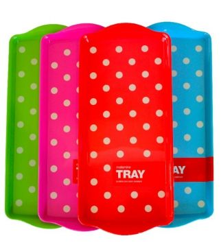 Dotty Trays http://www.recline.co.nz/store/tableware/dotty-trays.html