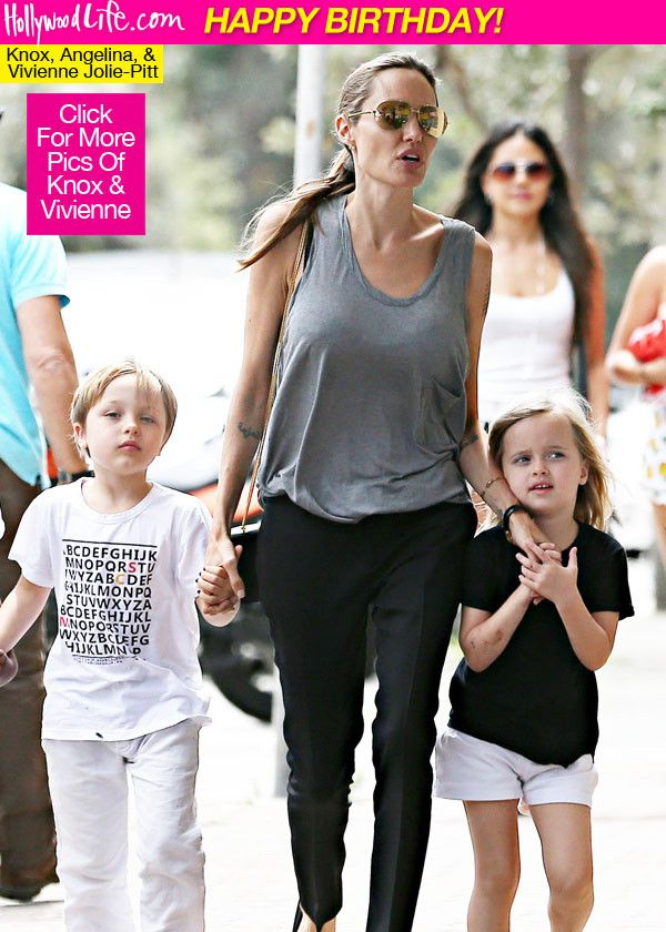 Vivienne & Knox Jolie-Pitt Turn 6 — HappyBirthday