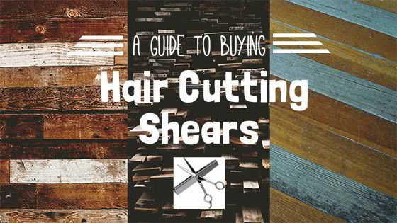 hair cutting shears guide