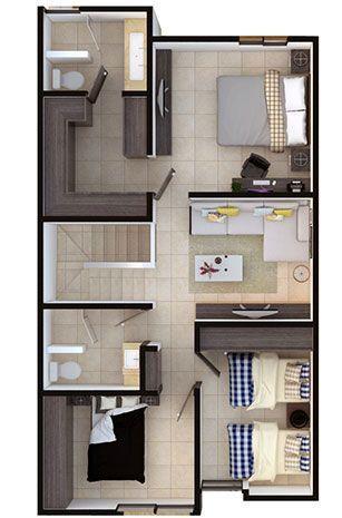 Venta de Casas en Querétaro – Modelo Irena - Encuentra la mayor oferta de casas nuevas en venta. #fachadasmodernaschicas