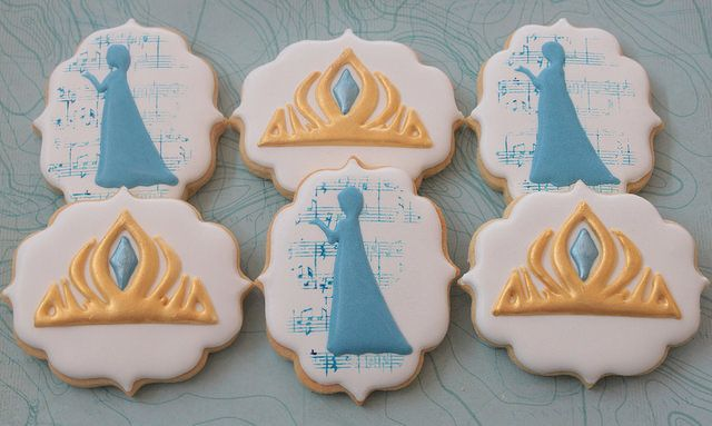 Frozen cookies by Miss Biscuit
