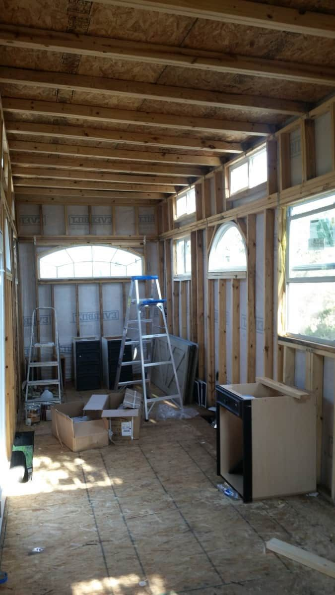 Unfinished Tiny Home For Sale - Tiny House for Sale in