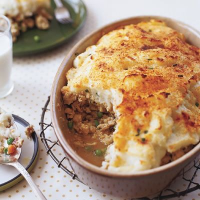 Ground turkey shepards pie. This has been a staple in our house for a long time. The kids love it!
