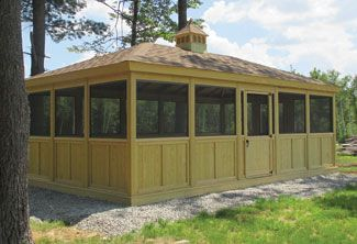 17 best images about gazebos pergolas pavilions by kloter farms on pinterest vinyls - Outdoor leunstoel castorama ...