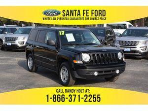 2017 Black Jeep Patriot Sport 38113P
