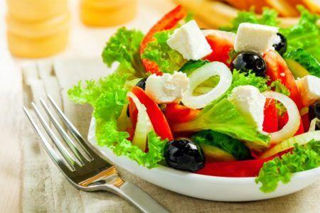 ГРЕЧЕСКИЙ САЛАТ РЕЦЕПТ КЛАССИЧЕСКИЙ | Самые вкусные кулинарные рецепты