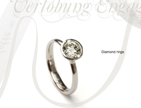 Engagement Ring with a Gabrielle-Cut Diamond, Charlotte Ehinger-Schwarz
