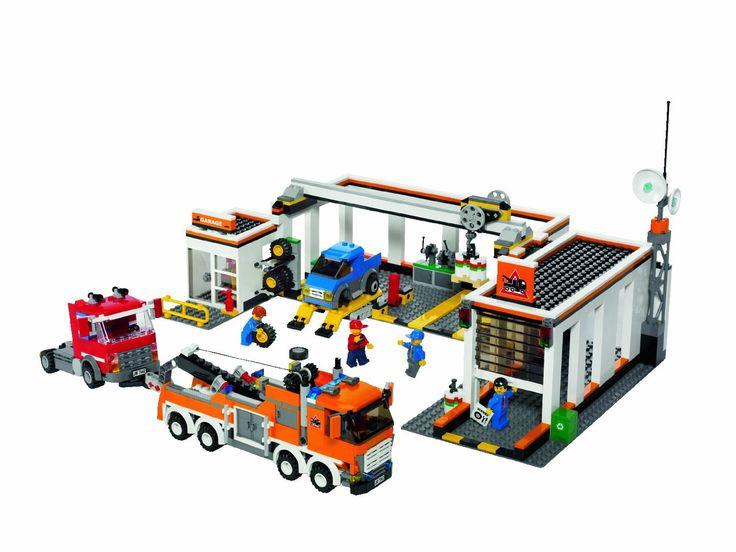 Lego - 7642 - Jeu de construction - City - Traffic - Le garage: Amazon.fr: Jeux et Jouets