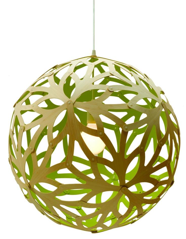 David Trubridge   Floral 400 Pendant Lamp