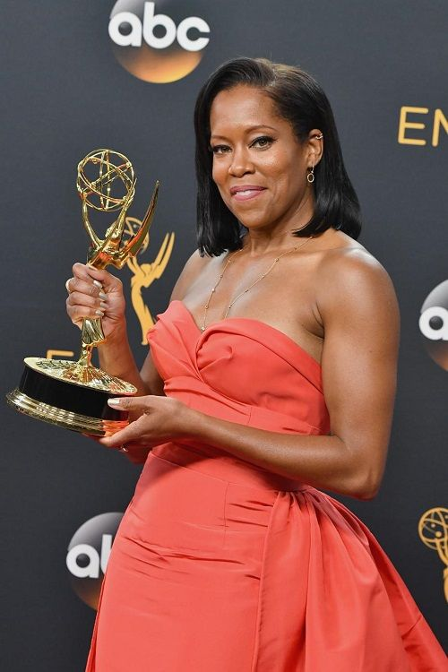 "Regina King won an Award for Outstanding Supporting Actress in a Miniseries "" American Crime "" at the 68th Primetime Emmy Awards 2016"