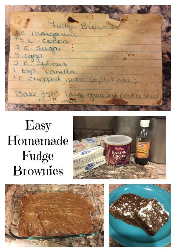 Easy Homemade Brownie Recipe #chocolaterecipes #chocolaterecipe #brownies #sweettreats #easyrecipe