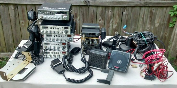 Huge 9 piece CB radio lot Cobra Uniden Cb radio, Cb