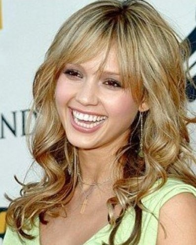 New do?: Hair Colors, Long Bangs, Layered Hairstyles, Celebrity Hairstyles, Wavy Hair, Long Hair, Hair Cut, Hair Style, Jessica Alba