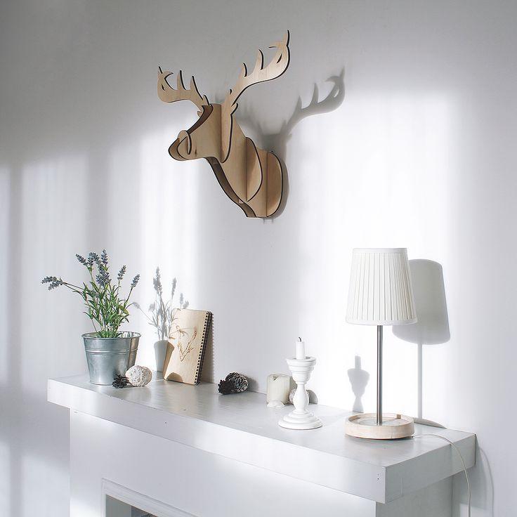 Декоративная голова оленя Junior Wood