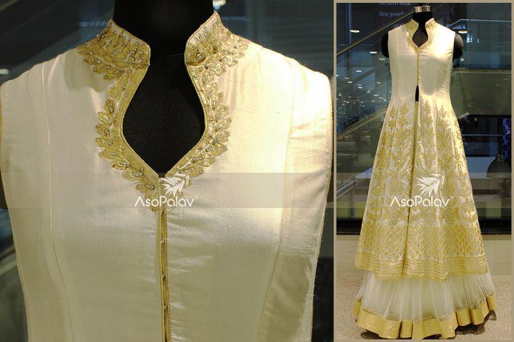 A work of :: Craftsmanship :: #Asopalav #Brides2015 #Fashion #FemaleFashion #Ahmedabad #BridalFashion