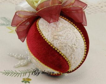 Bola de espiral árbol de Navidad decoraciones de Navidad por Gydesi