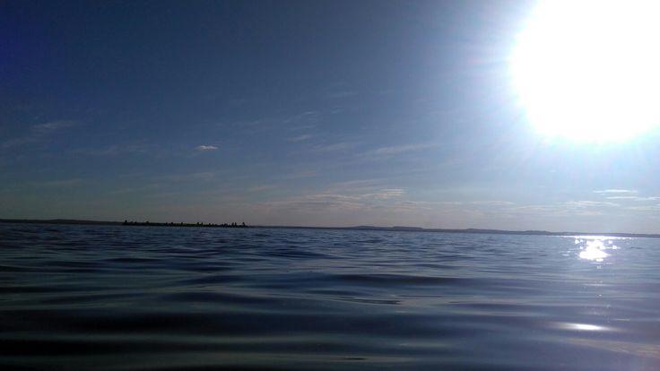 Lago do Rio Tocantins em Palmas-TO.