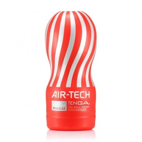 Discover the sensation of aerostimulation. Breathtaking sensations, time and time again.  After much consumer and trade feedback, TENGA have at long last designed a hygienic, reusable, CUP style masturbator! Crafted from TENGA's unique air-cushion technology, this product uses no internal foam making it hygienic for reuse! Not only this, but the brand new airflow structure allows an intense suction sensation even stronger than the original CUP Series!
