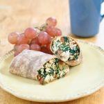 Copycat Starbucks Spinach & Feta Wrap