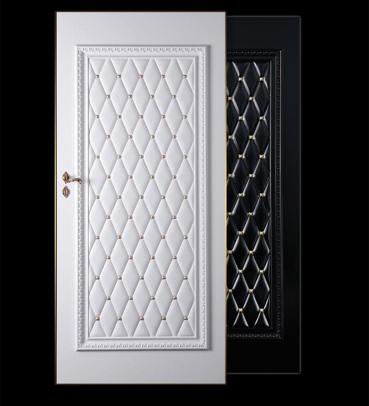 DRZWI BAROCO MADELINE Drzwi wykonane są z drewna i obłożone sztukaterią.