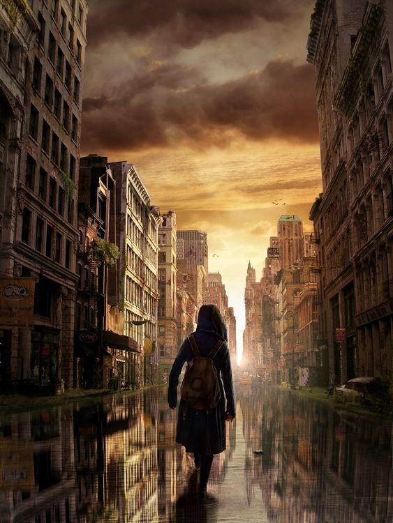 Post Apocalyptic City in Stunning Post Apocalypse Artworks