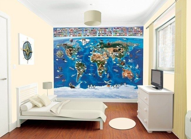 Walltastic 3D Wereldkaart