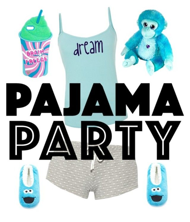 """""""pajama party sett"""" by szabo-b-aniko on Polyvore featuring interior, interiors, interior design, home, home decor, interior decorating, Eberjey and Forever 21"""