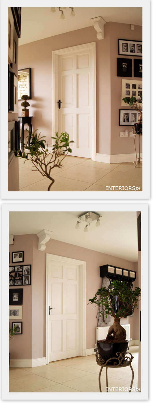 Changes in hallway. More info at http://interiorspl.com/mj-dom/2012/2/29/architektoniczne-detale.html