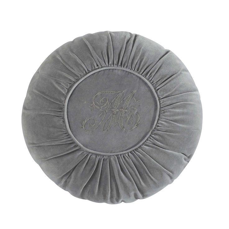 1000 ideas sobre coj n redondo en pinterest almohada de - Cojin redondo silla ...