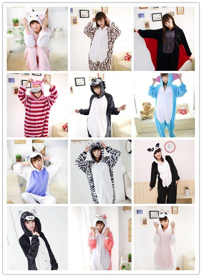 Unisex Adult Pajamas Kigurumi Cartoon Cosplay Costume Animal Onesie Sleepwear #Unbranded #CompleteOutfit