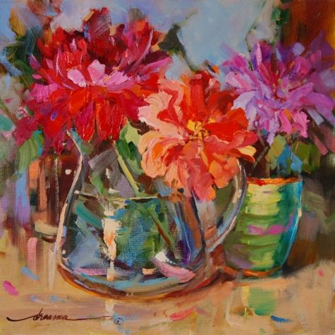 California Girls, painting by artist Dreama Tolle Perry