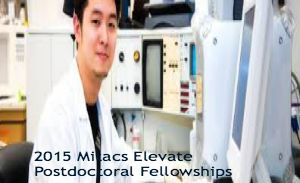 2015 Mitacs Elevate Postdoctoral Fellowships for Canadian and International Applicants in Canada, and applications are submitted till August 6, 2014. Applications are invited for Mitacs Elevate Postdoctoral Fellowship, a two-year training program that supports the professional skills development of the recent PhD graduates. - See more at: http://www.scholarshipsbar.com/2015-mitacs-elevate-postdoctoral-fellowships.html#sthash.RFS0AZvm.dpuf