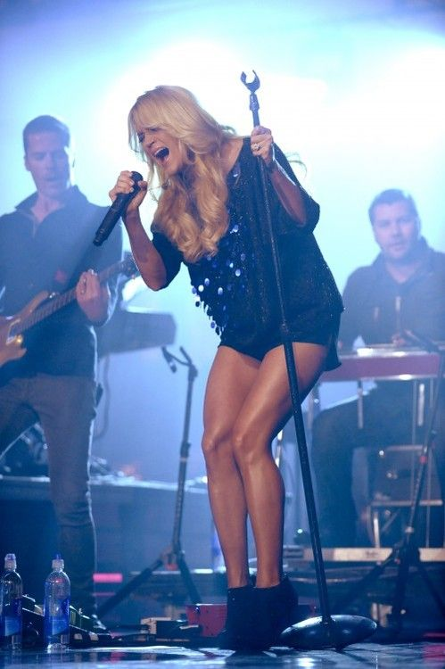 Do you really need more inspiration than Carrie Underwood's legs!?!