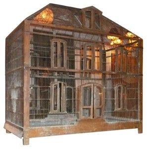 French 19th Century Birdcage