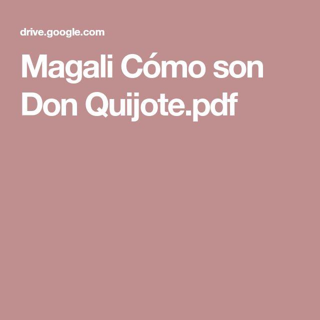 Magali Cómo son Don Quijote.pdf
