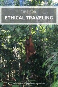 Tips for Ethical Traveling. #traveltips #ethicaltraveling #backpacking #southeastasia