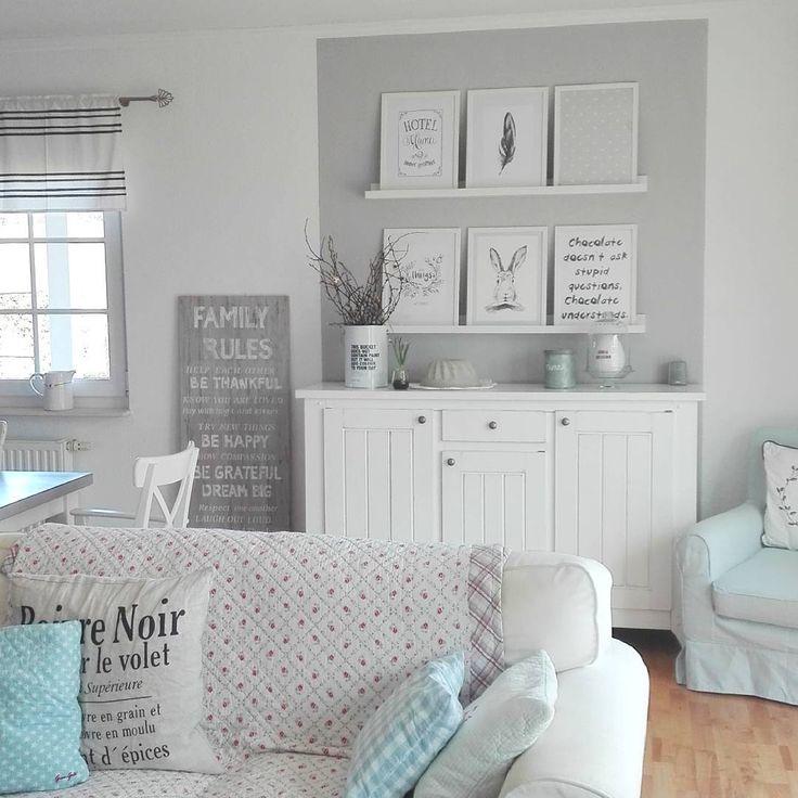 10 besten Wohnzimmer Bilder auf Pinterest Wohnideen, Wohnzimmer - Wohnzimmermöbel Weiß Landhaus