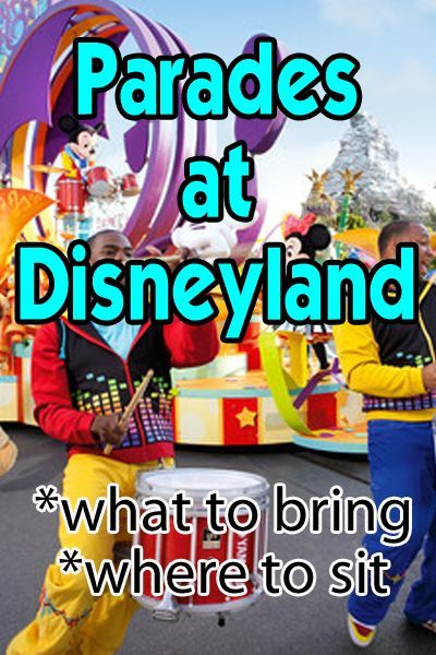 All about parades at Disneyland and California Adventure. Maps with routes, what to bring, and more!