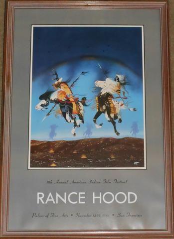 """Fleeing The Spirit Winds"" by Rance Hood"