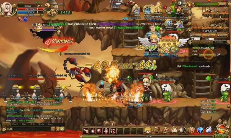 Lunaria Story is a browser based social game, 2D side-scrolling Massively Multiplayer Online Role Playing Game (MMORPG, MMO, RPG), free to play on web browser, from iMiGAME
