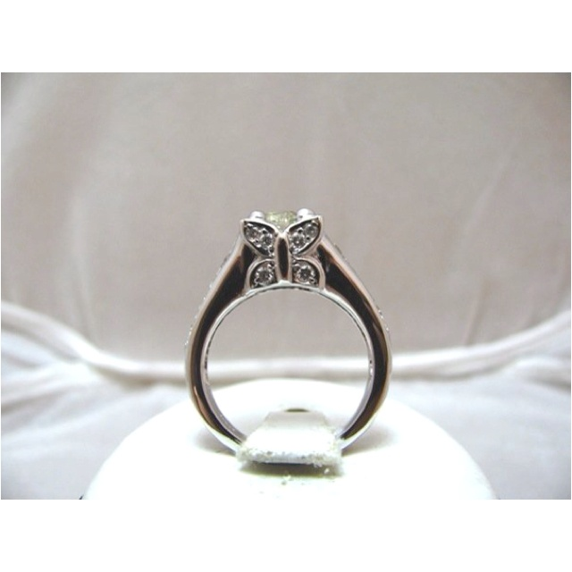 custom butterfly wedding ring - Butterfly Wedding Ring