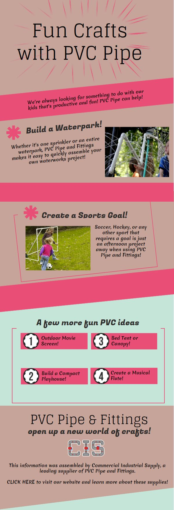 Build a Water Park in Your Backyard   Fun Summertime Crafts